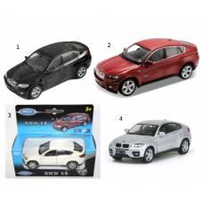 Металлическая модель BMW X6, 1:34-39 Welly