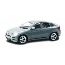 Машина металлическая RMZ City 1:43 BMW X6 , без механизмов, цвет серый, 12,5 x 5,6 x 5,9 см RMZ City