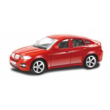 Машина металлическая RMZ City 1:43 BMW X6 , без механизмов, цвет красный, 12,5 x 5,6 x 5,9 см RMZ City
