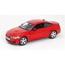 Машина металлическая RMZ City 1:36 BMW M4 COUPE, Цвет Красный RMZ City