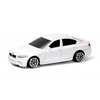 Машина металлическая RMZ City 1:64 BMW M5, Цвет Белый RMZ City