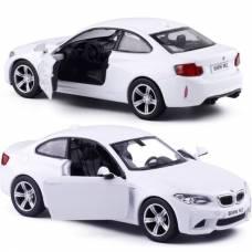 Машина металлическая RMZ City 1:36 BMW M2 COUPE with Strip инерционная, 2 цвета в ассортименте (белый), 11,80х4,90х3,73 см RMZ City