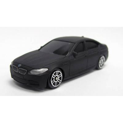 Металлическая машина BMW M5, черная матовая, 1:64  RMZ City