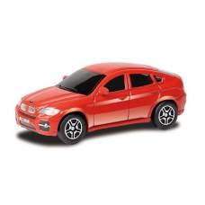 Машина металлическая RMZ City 1:64 BMW X6, Цвет Красный RMZ City