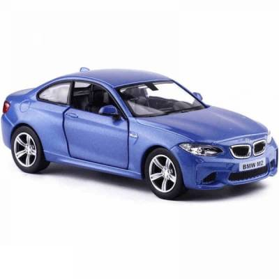 Машина металлическая RMZ City 1:36 BMW M2 COUPE with Strip инерционная, 2 цвета в ассортименте (синий), 11,80х4,90х3,73 см RMZ City