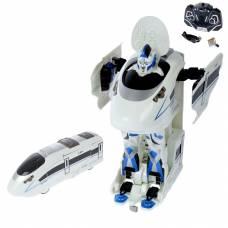 Робот-трансформер р/у Tainbot Velocity - Скоростной поезд (на аккум., свет, звук) Jia Qi