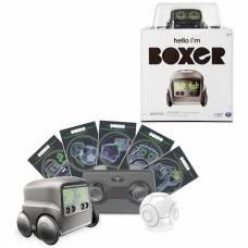 Интерактивный робот на р/у Boxer (на аккум., свет), черный Spin Master
