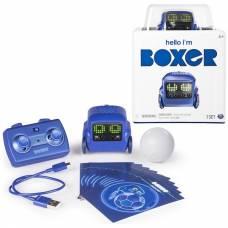 Интерактивный робот на р/у Boxer (на аккум., свет), синий Spin Master