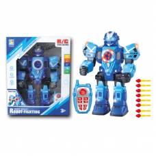 Боевой робот р/у Robot-Fighting (на бат., свет, звук, стрельба), 31 см Ken Di Long
