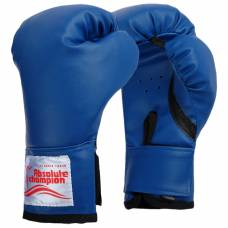 Перчатки боксерские детские 4 унции, цвет синий Absolute Champion