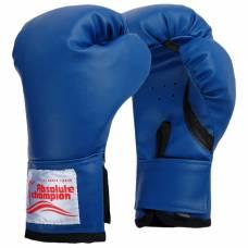 Перчатки боксерские детские 6 унций, цвет синий Absolute Champion
