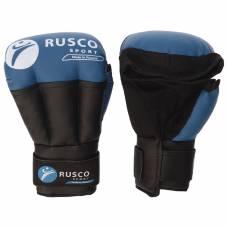 Перчатки для Рукопашного боя RUSCO SPORT  6 OZ цвет синий RuscoSport