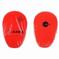 Лапа боксерская, размер 21 х 30 см, цвет красный Леко