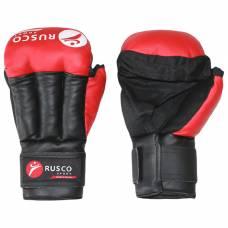 Перчатки для Рукопашного боя RUSCO SPORT  8 Oz цвет красный RuscoSport