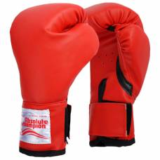 Перчатки боксерские детские 4 унции, цвет красный Absolute Champion