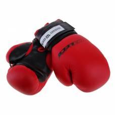 Перчатки боксерские, 12 унций, цвет красный Леко
