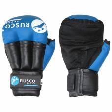 Перчатки для Рукопашного боя RUSCO SPORT  8 Oz цвет синий RuscoSport