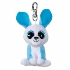 Мягкая игрушка-брелок «Кролик Ice», цвет голубой, 8,5 см BToys