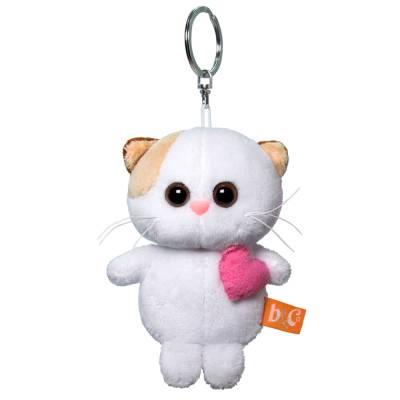 Брелок Budi BasaАВВ-014 Кошечка Ли Ли с розовым сердцем 12 см Budi Basa