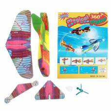 Самолет разные виды, 6 деталей, возвращается, цвета МИКС Sima-Land