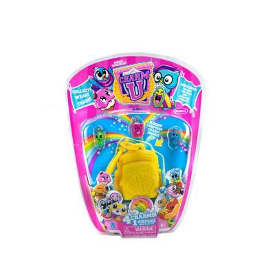 Дополнительный набор Charm U с 4 подвесками, желтый рюкзак Cepia