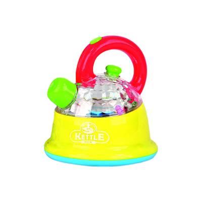 Игрушечный пластиковый чайник (свет, звук) Joy Toy