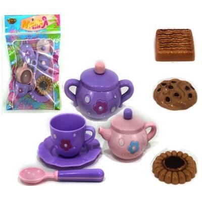 Чайный набор с пирожными