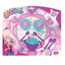 Набор посуды для чаепития «Принцесса и Единорог» 16 предметов Terides