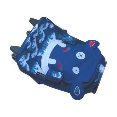 Детский чемодан Deglingos Hippipos L'Hippo, 48 см