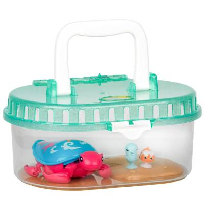 Интерактивная черепашка с аквариумом Little Live Pets - Песчинка и ее друзья Moose