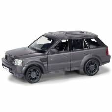 Инерционная коллекционная машинка Range Rover Sport, матово-черная, 1:32 RMZ City