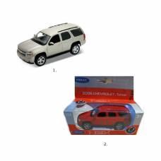 Металлическая машинка Chevrolet Tahoe, 1:34-39 Welly