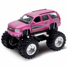 Модель машины Chevrolet Tahoe Big Wheel Monster, 1:34-39 Welly