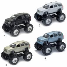 Коллекционная модель Chevrolet Tahoe - Big Wheel, 1:34-39 Welly