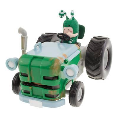 Игровой набор Oddbods - Фигурка Зи и его трактор RP2 Global