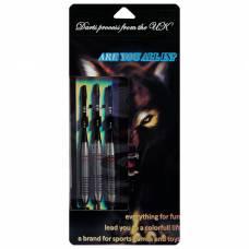 Стрелы для дартса с медным наконечником 20 гр, набор 3 шт., цвет микс Sima-Land