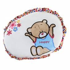 Мягкая игрушка-подушка круглая с мишкой Sima-Land