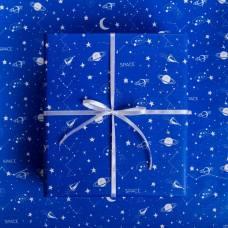 Бумага глянцевая в рулоне «Космос», 0.68 × 8 м Sima-Land