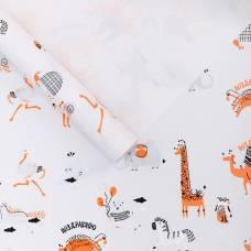 Бумага глянцевая в рулоне «Поздравляю», 0.68 × 8 м Sima-Land