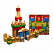 Деревянный конструктор в открытой коробке, 90 деталей Престиж