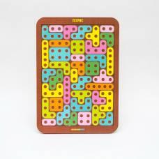 Логическая игра Woodland Toys 65103 Тетрис большой Конструктор Woodland (Сибирский сувенир)