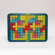 Логическая игра Woodland Toys 65109 Тетрис большой Пуговки Woodland (Сибирский сувенир)
