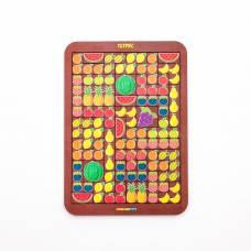 Логическая игра Woodland Toys 65111 Тетрис большой Фрукты/ягоды Woodland (Сибирский сувенир)