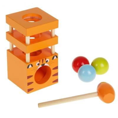 Деревянная игрушка-стучалка