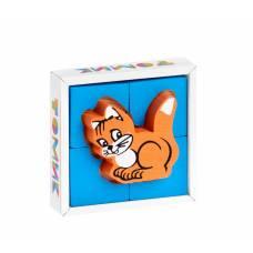 Кубики Томик 1-02 Собирайка Кошка Томик