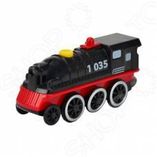 Электронный паровоз, черный, 11 см (свет) Eichhorn