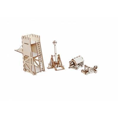 Сборные деревянные модели