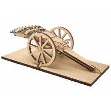 Сборная модель многоствольного пистолета по проекту Леонардо да Винчи Revell