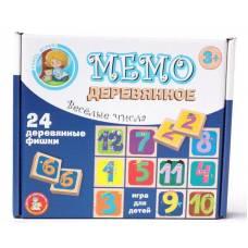 Игра деревянная МЕМО