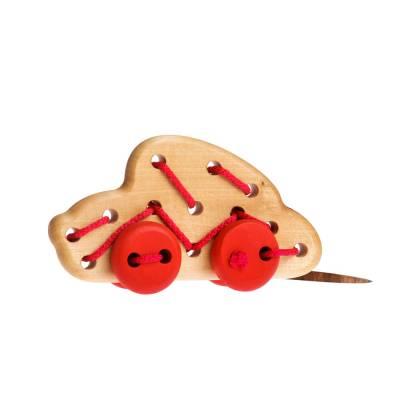 Деревянная шнуровка
